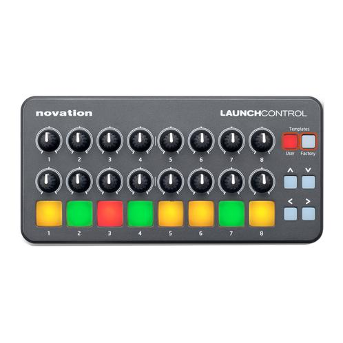 Novation Launch Control With 8 x Multicolor Backlit Buttons and
