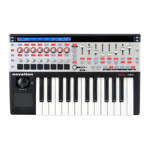 Novation 25 Remote SL Mk II 25-key USB MIDI Controller