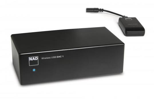 NAD DAC 1 WIRELESS USB DIGITAL-TO-ANALOGUE CONVERTER
