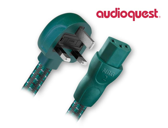 AudioQuest NRG-2 Power Cable 0.9m/3 feet