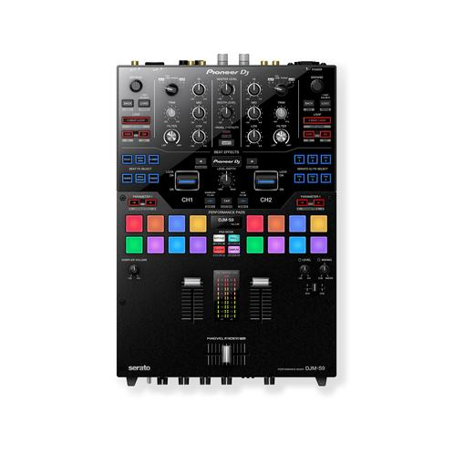 Pioneer DJM-S9 Professional 2-Channel Battle Mixer, Black