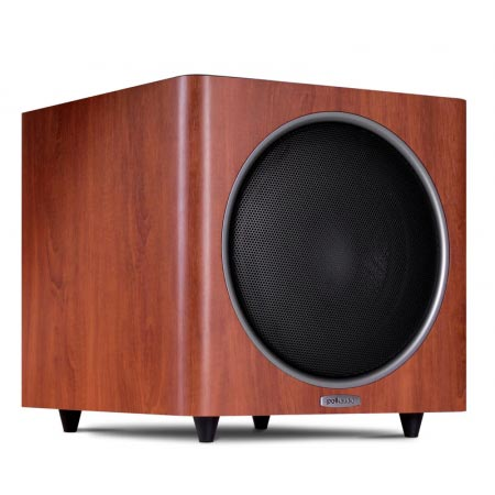 Polk Audio PSW110 10-inch freestanding subwoofer brown