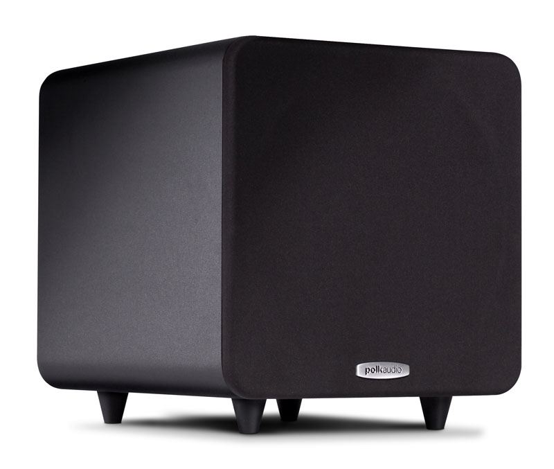 Polk Audio PSW111    8-inch, 300W Compact Powered Subwoofer