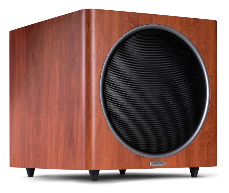 Polk Audio PSW125 12-inch, 300W Subwoofer brown