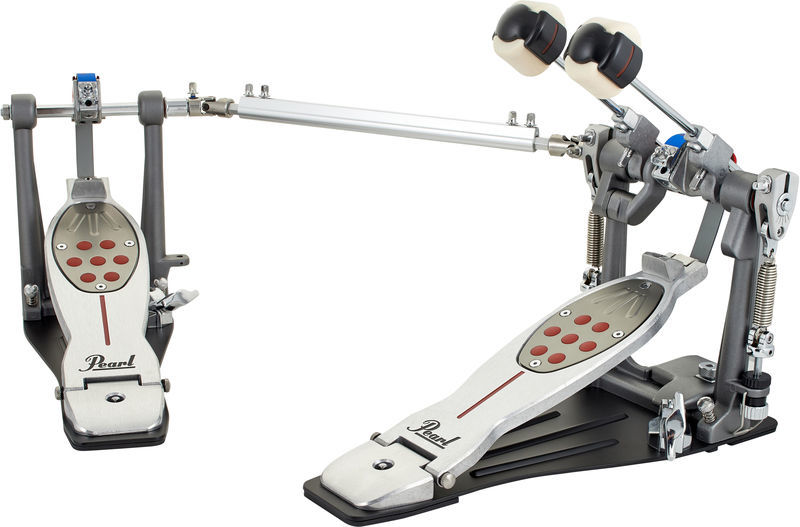 Pearl P-2052B Eliminator Redline Twin Bass Pedal, Belt Drive