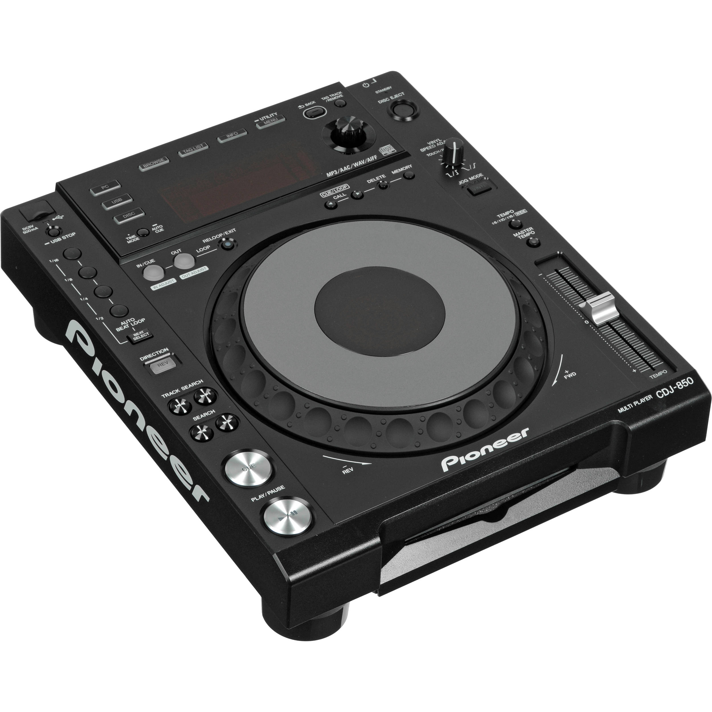Pioneer CDJ-850-K Performance Multi Player, Black