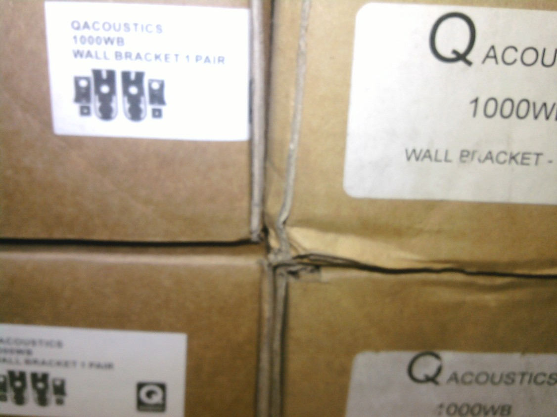 Q Acoustics 1000WB/1000CB Wall Mount Brackets