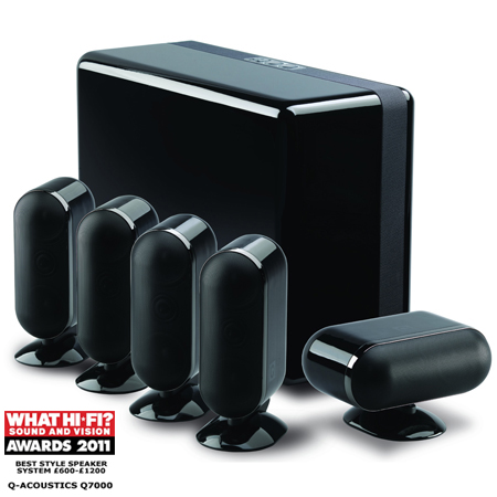 Q Acoustics 7000 Series 7000 Cinema Package Black