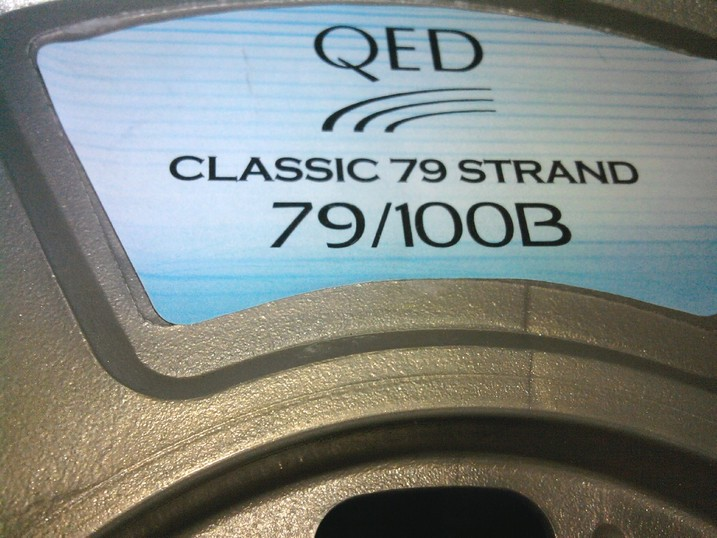 QED 79 Strand Speaker Cable black