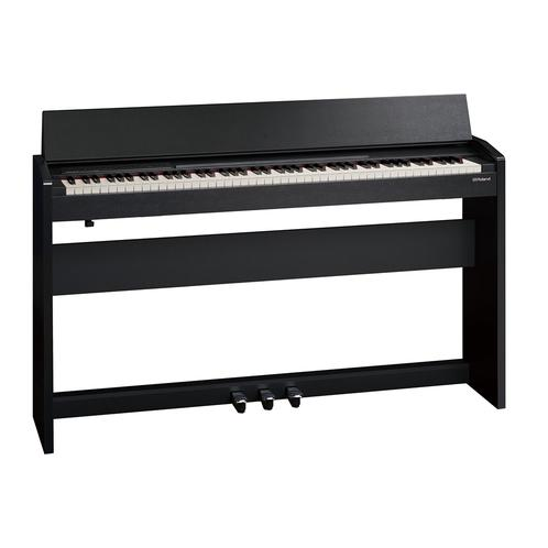 Roland HP605 Digital Piano w/stand, Contemporary Black