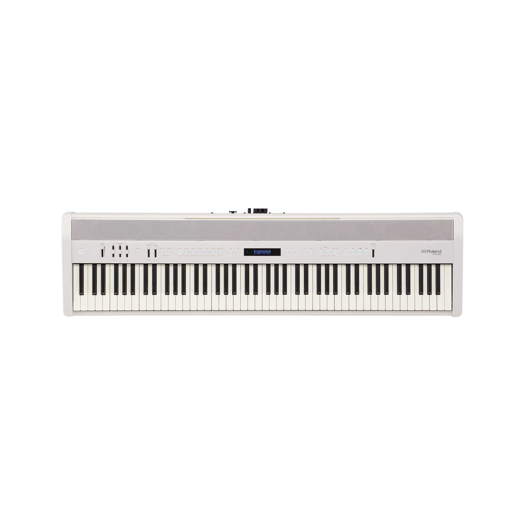 Roland FP-60 Digital Piano, White
