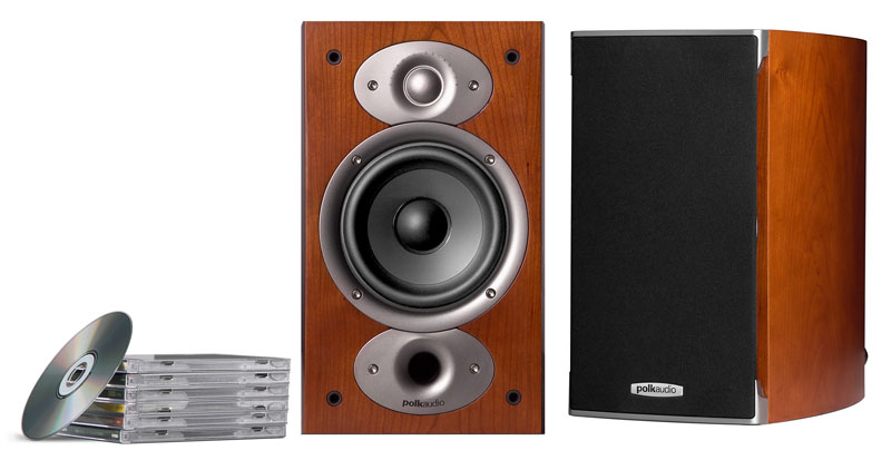 POLK AUDIO RTiA1 BOOKSHELF SPEAKER