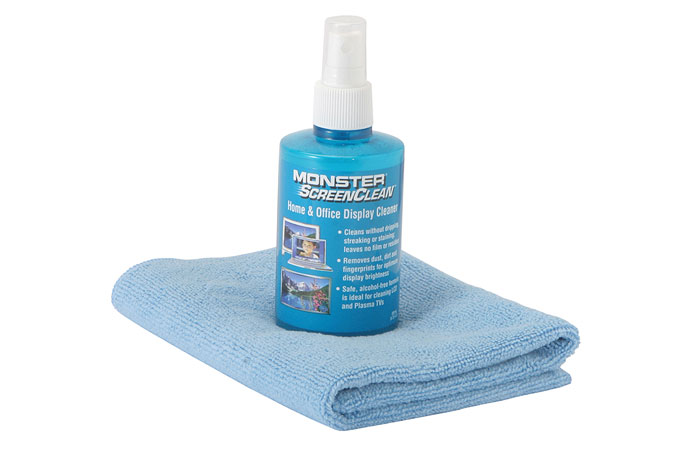 monster TV Cleaning Kit