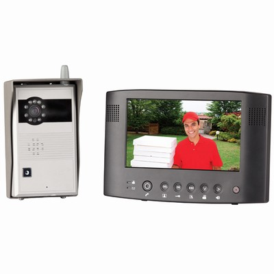 "Wireless 7"" Colour Video Doorphone with Recording Function   QC3"