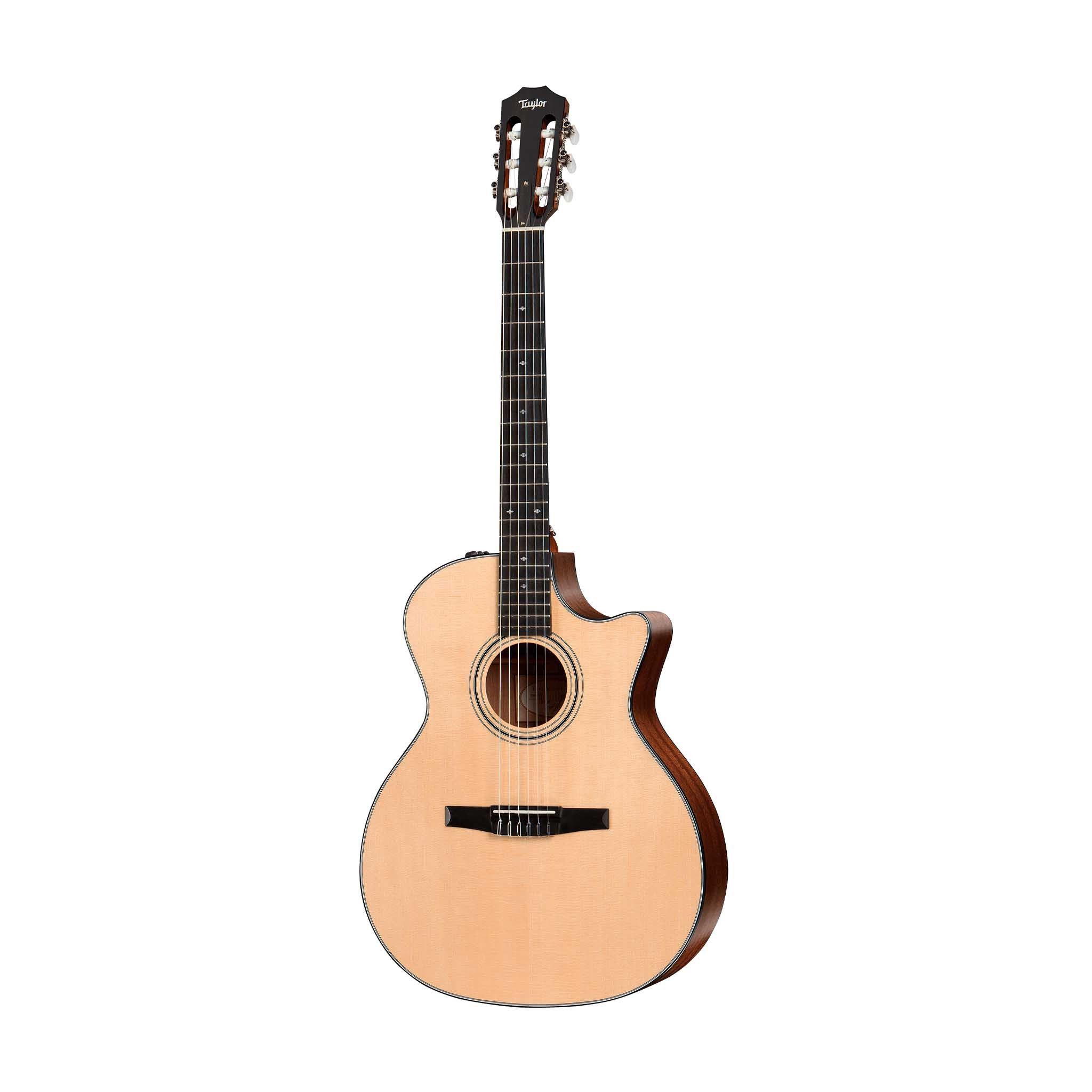 Taylor 314ce-N Grand Auditorium Nylon String Acoustic Guitar w/C