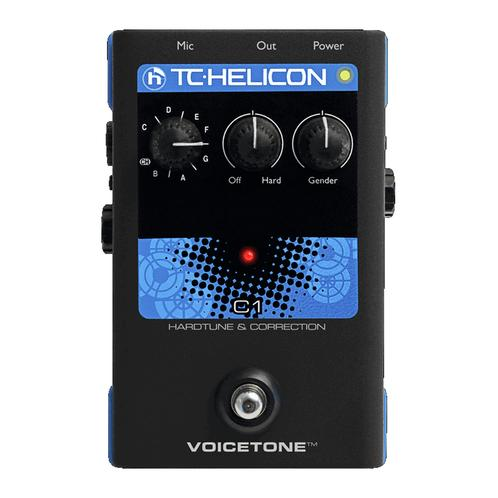 TC-Helicon VoiceTone C1 Pitch Correction Vocal Effects Pedal
