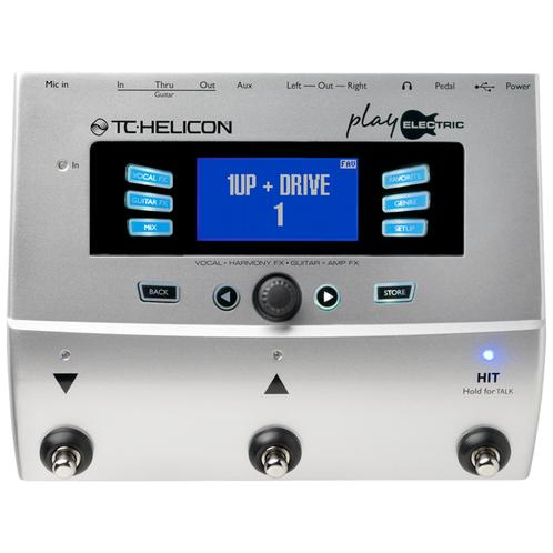 TC-Helicon Play Electric Vocal and Guitar Effects Pedal