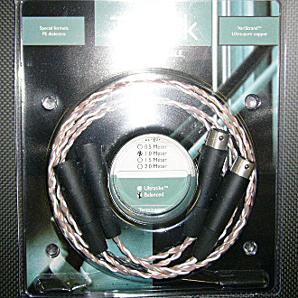 Kimber Kable TONIK high end ultratike xlr Cables 2m