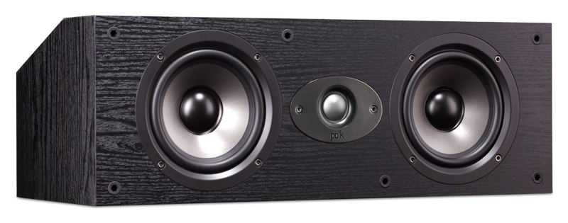 POLK AUDIO TSX150C CENTRE SPEAKER BLACK