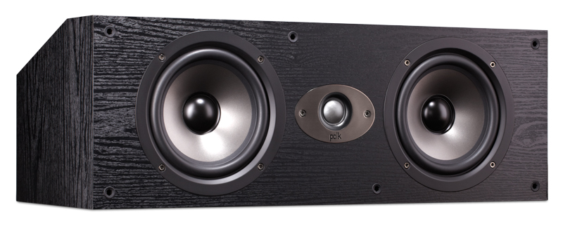 POLK AUDIO TSX250C BLACK