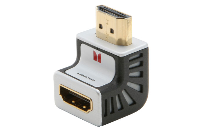 Monster Advanced™ for HDMI™ 1080p 90 Degree Adapter