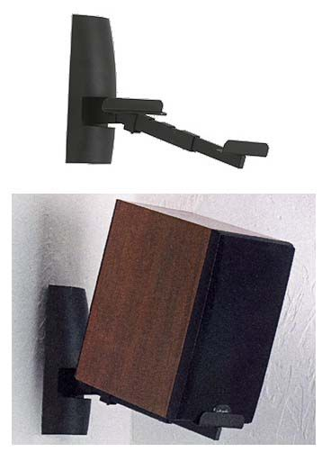 Sanus WMS2 Tilt & Swivel Wall Mount for Wall Speaker VMS2