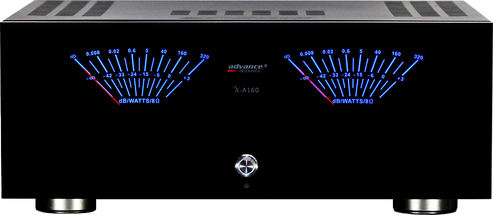 Advance A X-A160 Stereo Power Amplifer 2x160 W