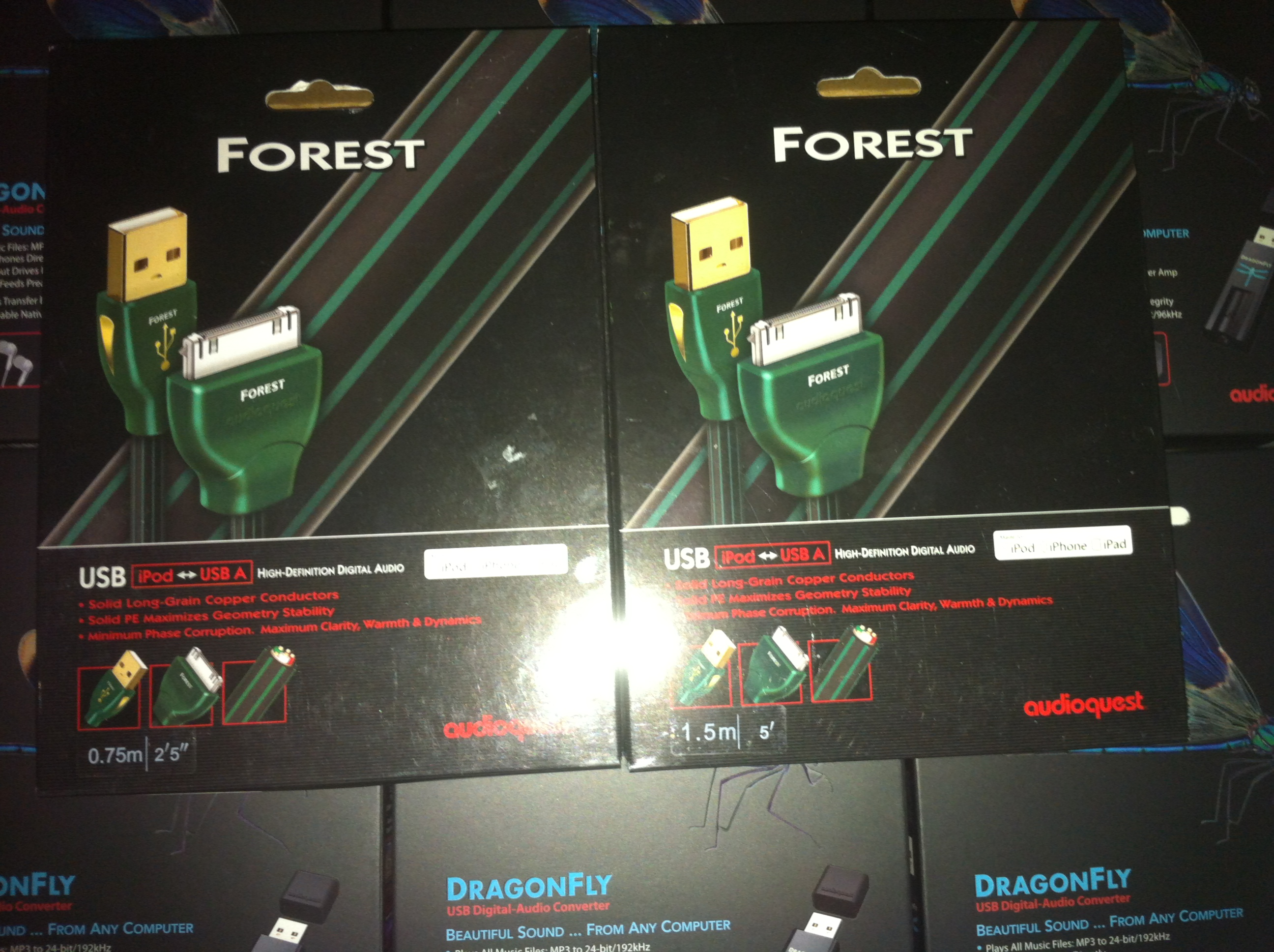 Audioquest Forest iPod to USB Digital Cable 0.75m