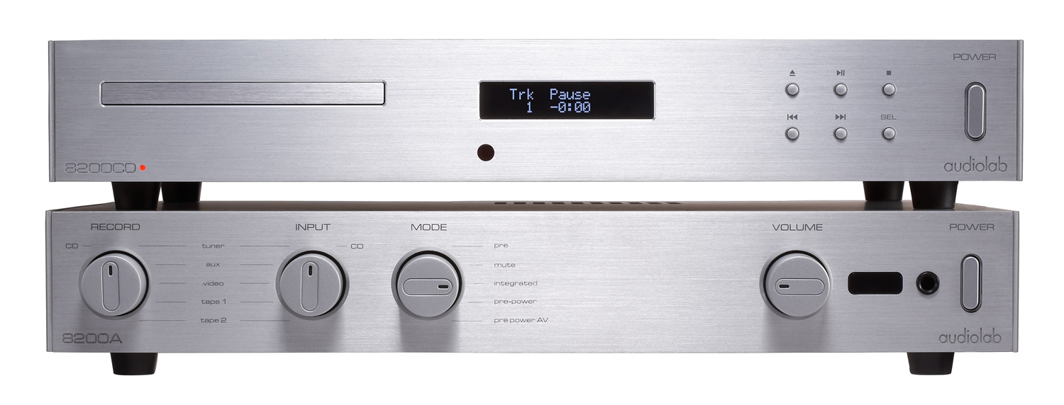 AUDIOLAB 8200A INTEGRATED AMPLIFIER (SILVER)