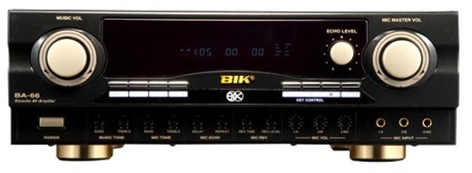BIK Karaoke Amplifier (BA-66)