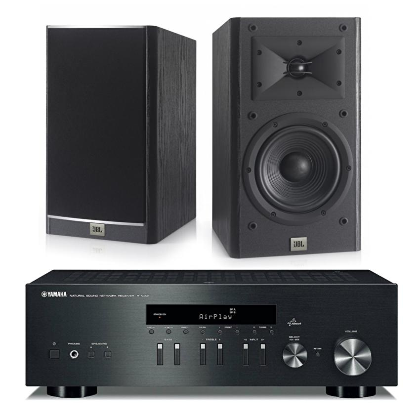 [BUNDLE]Yamaha R-N301 Network Receiver (Black) + JBL Arena 130 7