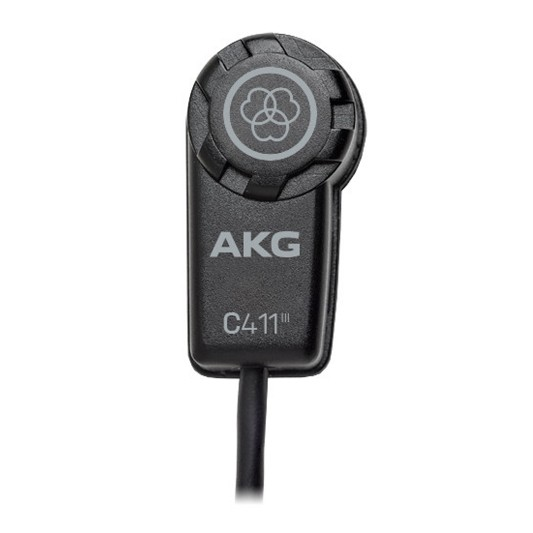 AKG C411PP High Performance Miniature Condenser Vibration Pickup