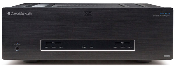 Cambridge Audio Azur 851W (Black) Stereo power amplifier