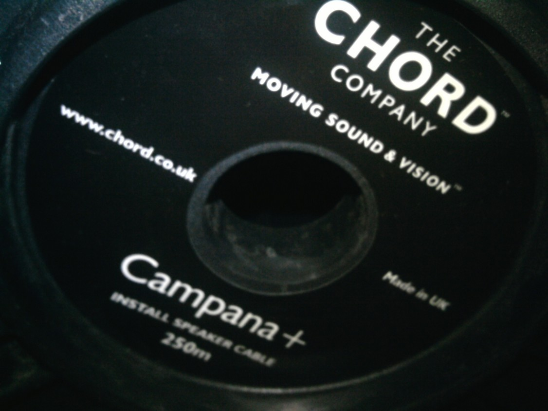 Chord Company Campana Plus speaker cable