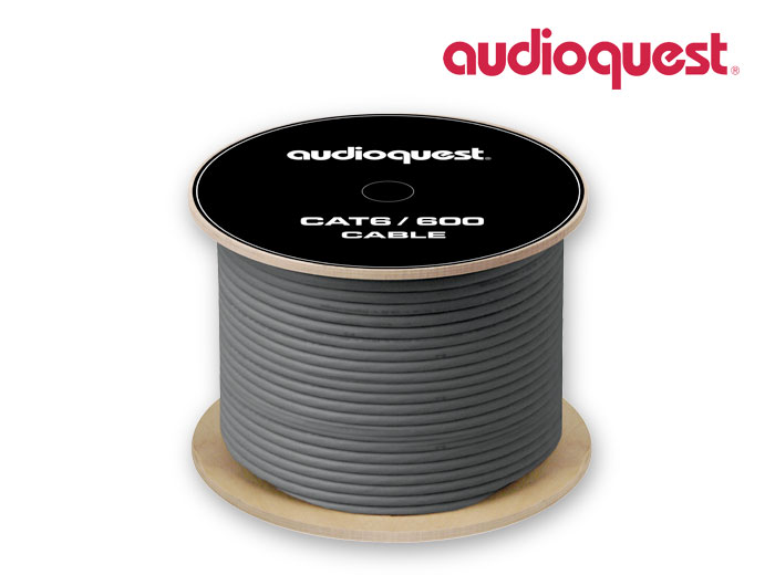 AudioQuest CAT 6/600 Ethernet Cable 305m/1000FEET Spool