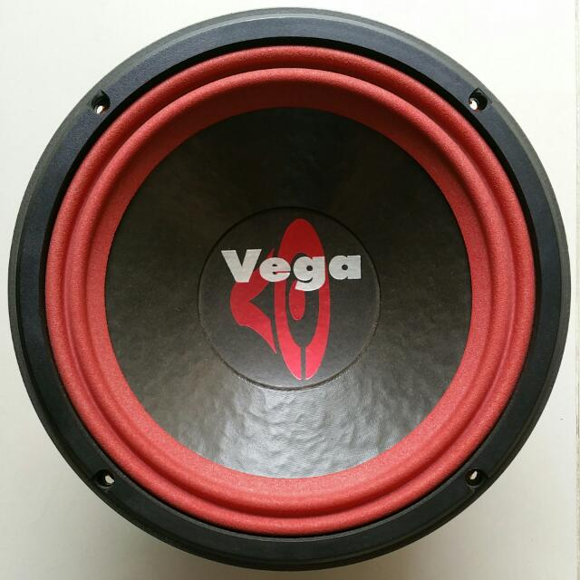 Cervin Vega 104 (1 Pair) 4 Ohm Subwoofer Original Made In USA