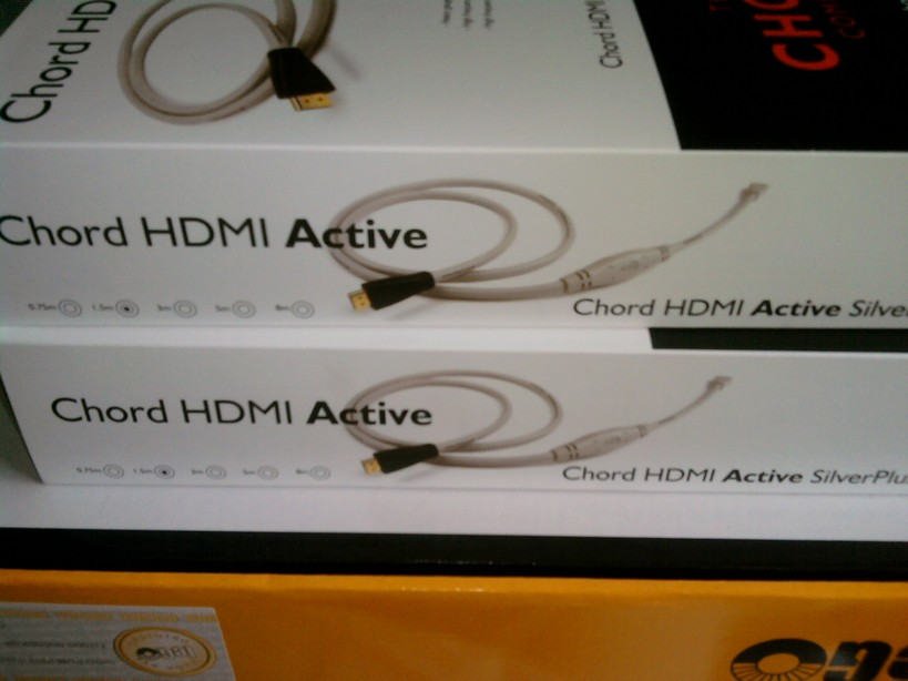 Chord HDMI Active Silver Plus 1.3b 1.5m