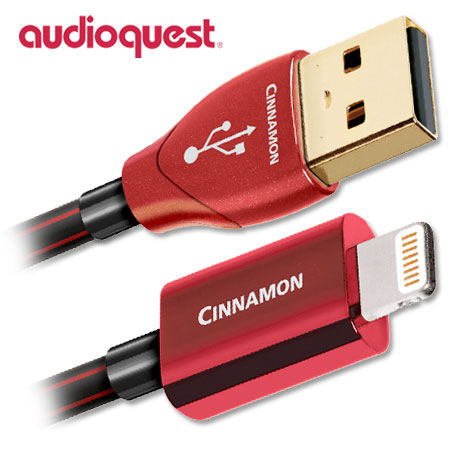 AudioQuest Cinnamon USB to Lightning Cable 0.75m