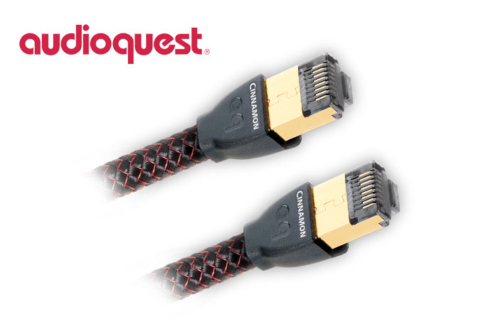 AudioQuest Cinnamon RJ/E Ethernet Cable 12m