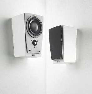 DYNAUDIO CONTOUR SR WALL MOUNT SPEAKERS - PAIR - BLACK ASH