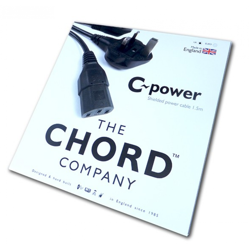 Chord Company C-power Shielded power cable 1.5m