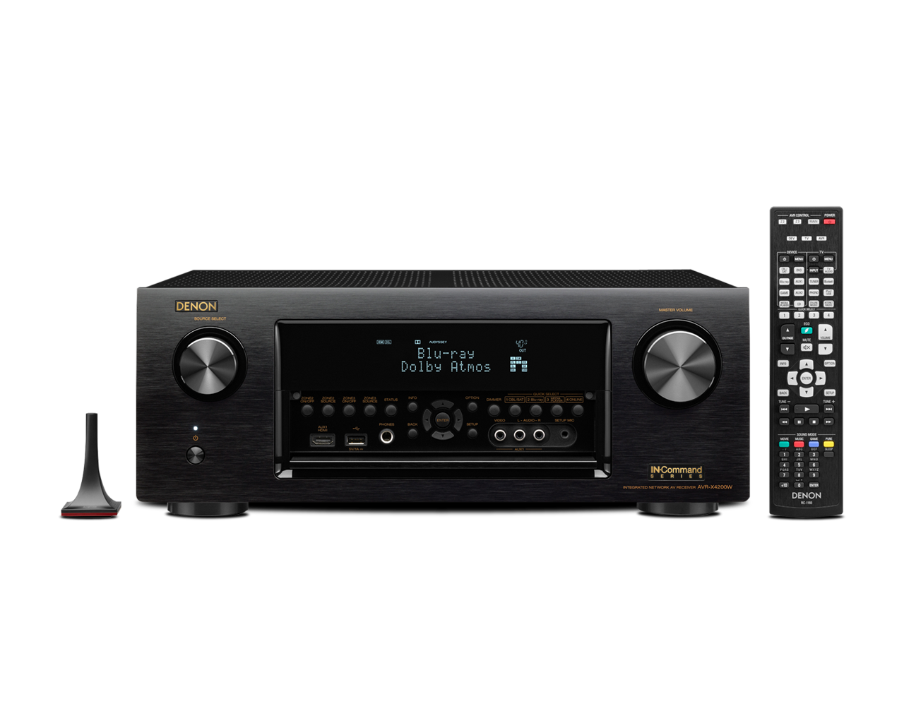 Denon AVR-X4200W 7.2 Channel Full 4K Ultra HD A/V Receiver with