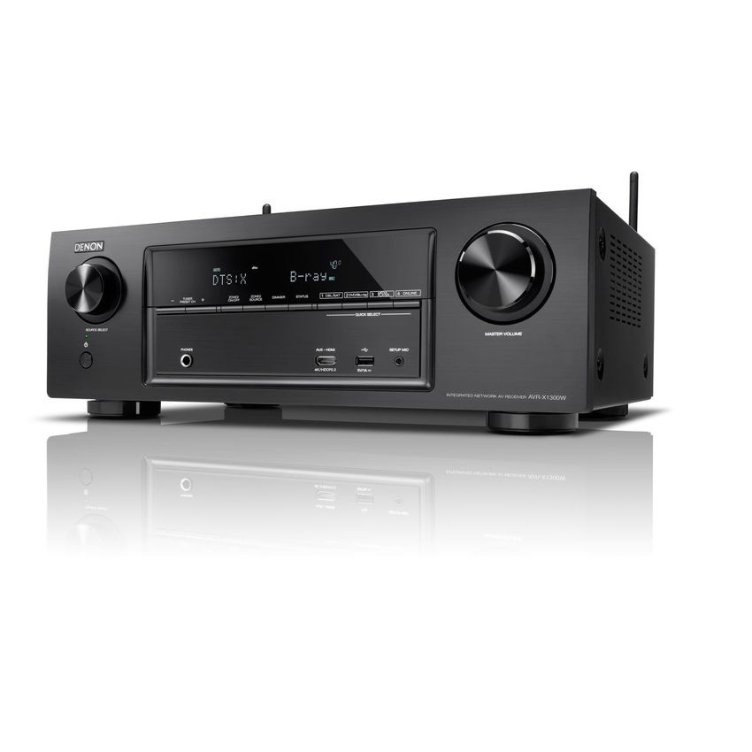 Denon AVR-X1300W 7.2 channel AV Receiver (Black)