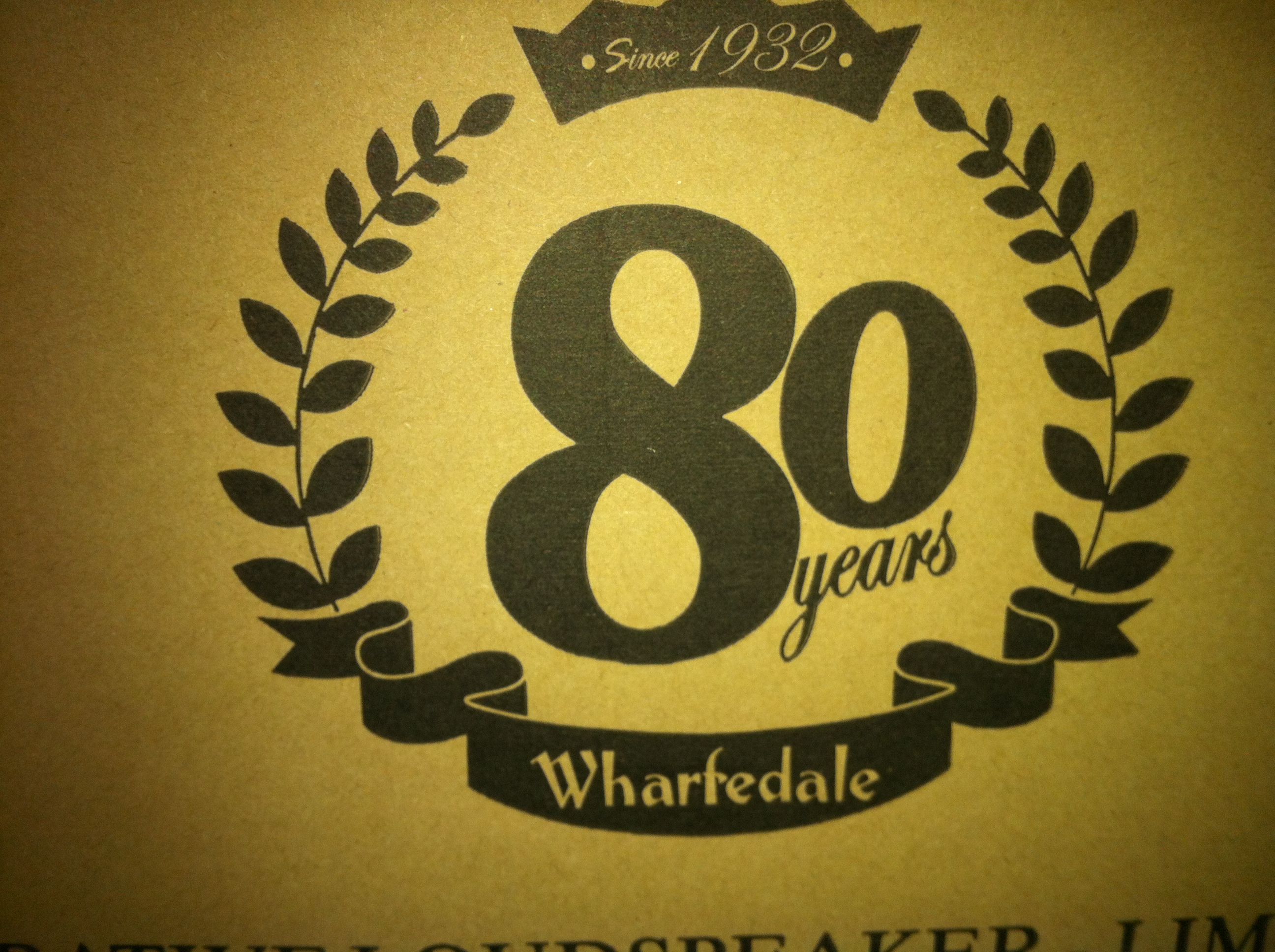 Wharfedale Denton 80th Anniversary Limited Edition
