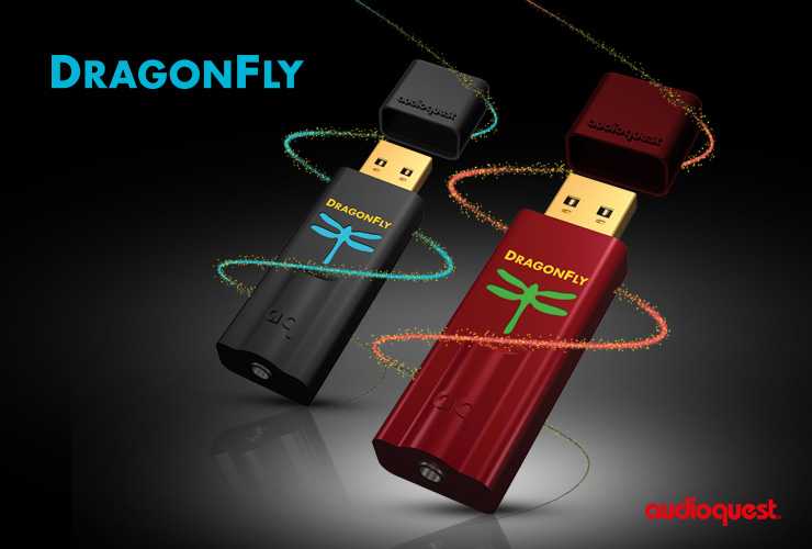 Audio Quest DragonFly Red
