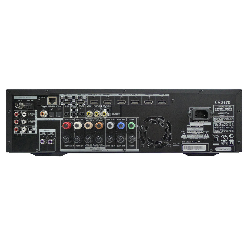 Harman Kardon AVR-171 Networked Audio/Video Receiver