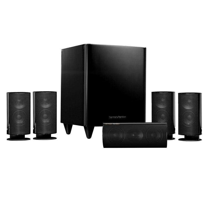 Harman Kardon HKTS-20BQ Speaker System with Powered Subwoofer