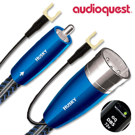 AudioQuest Husky Subwoofer Cable 2m