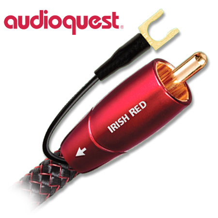 AudioQuest Irish Red Subwoofer Cable 2m