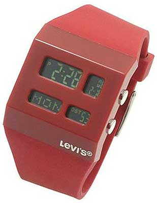 Levis Standard Collection Red Strap Unisex #LTD1204